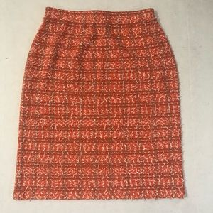 St John Couture knit tweed skirt